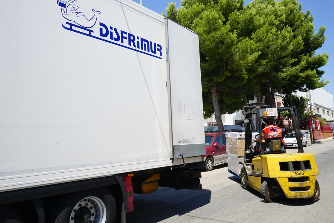 Disfrimur sigue transportando rutas solidarias